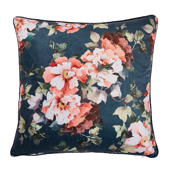 sanctuary studio - Cushion – Pond Blue Flora