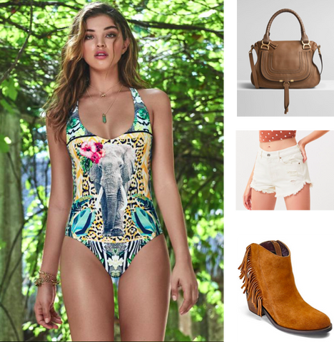 Coachella Outfit Native One Piece