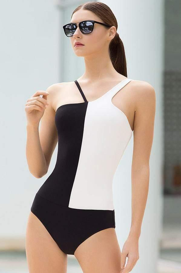 Asymmetric One Piece - Veranera Swimwear