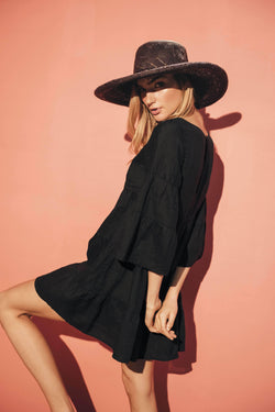 Black Tunic - Veranera Swimwear