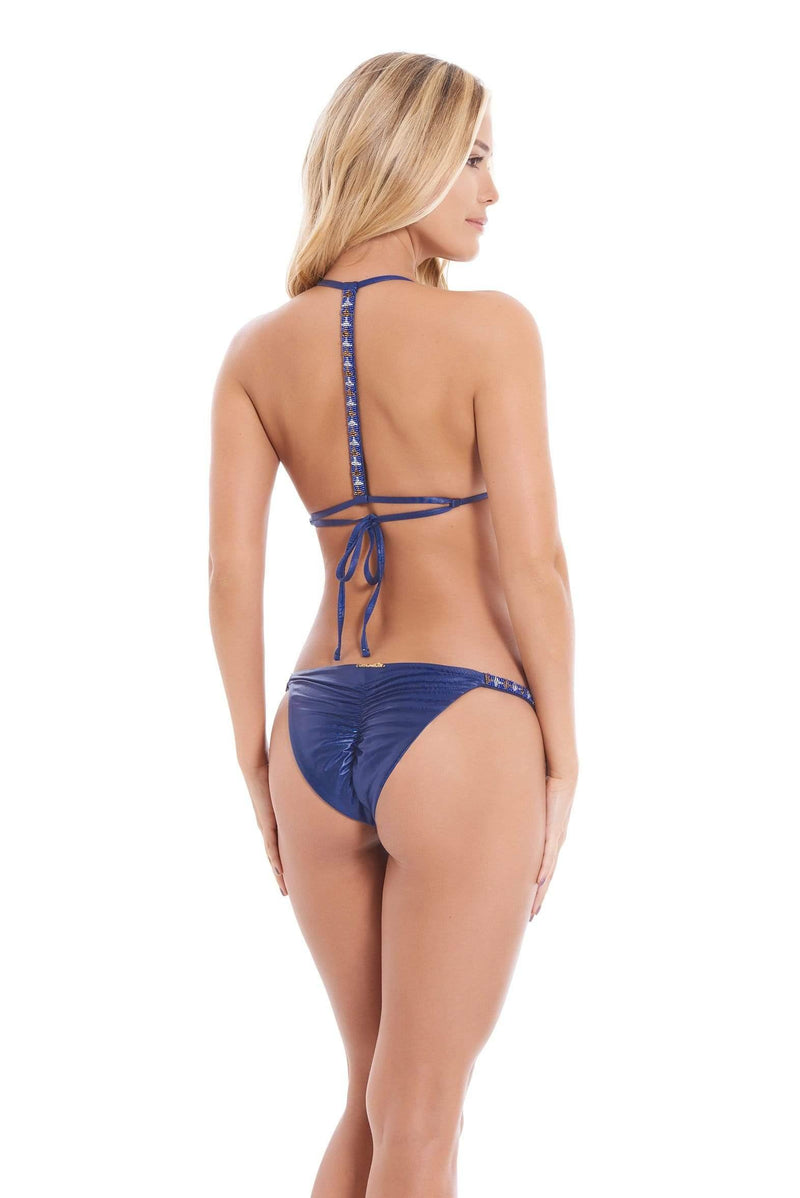 Blueberry Bikini Bottom - Veranera Swimwear