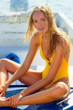 Marigold One Piece - Veranera Swimwear
