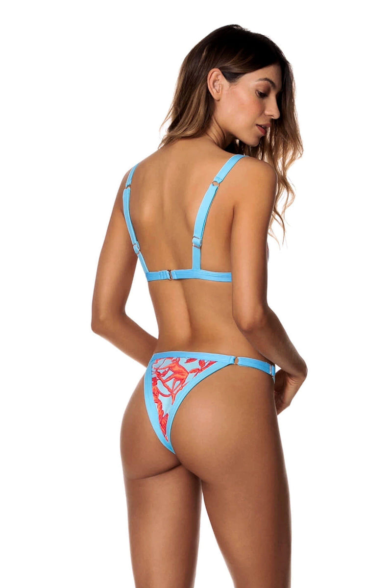 Cloud Blue Hyacinth Bikini Bottom