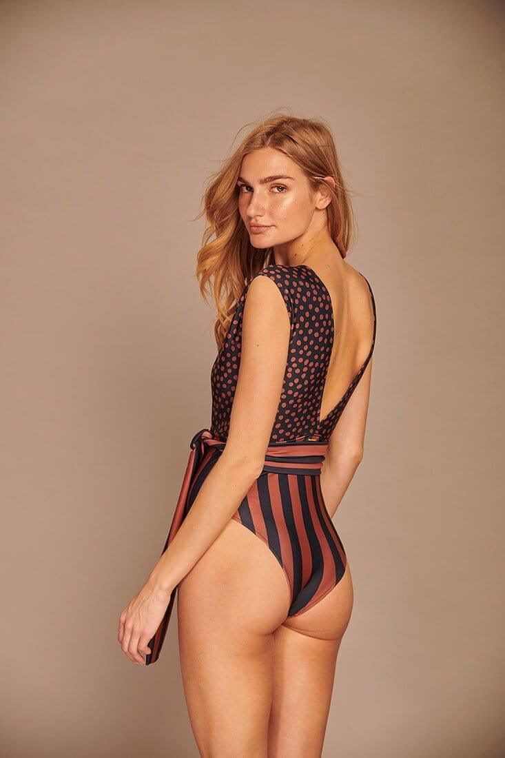 Dots and Stripes One Piece