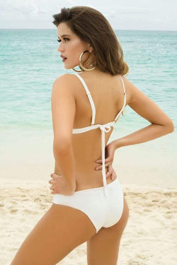 Flower Power Bikini Bottom - Veranera Swimwear