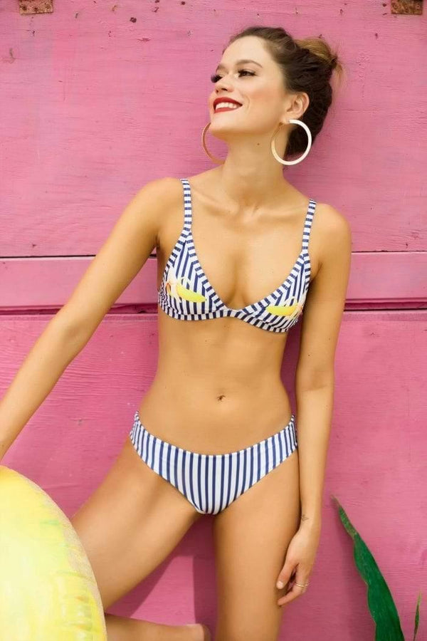 Banana Affair Bikini Bottom - Veranera Swimwear