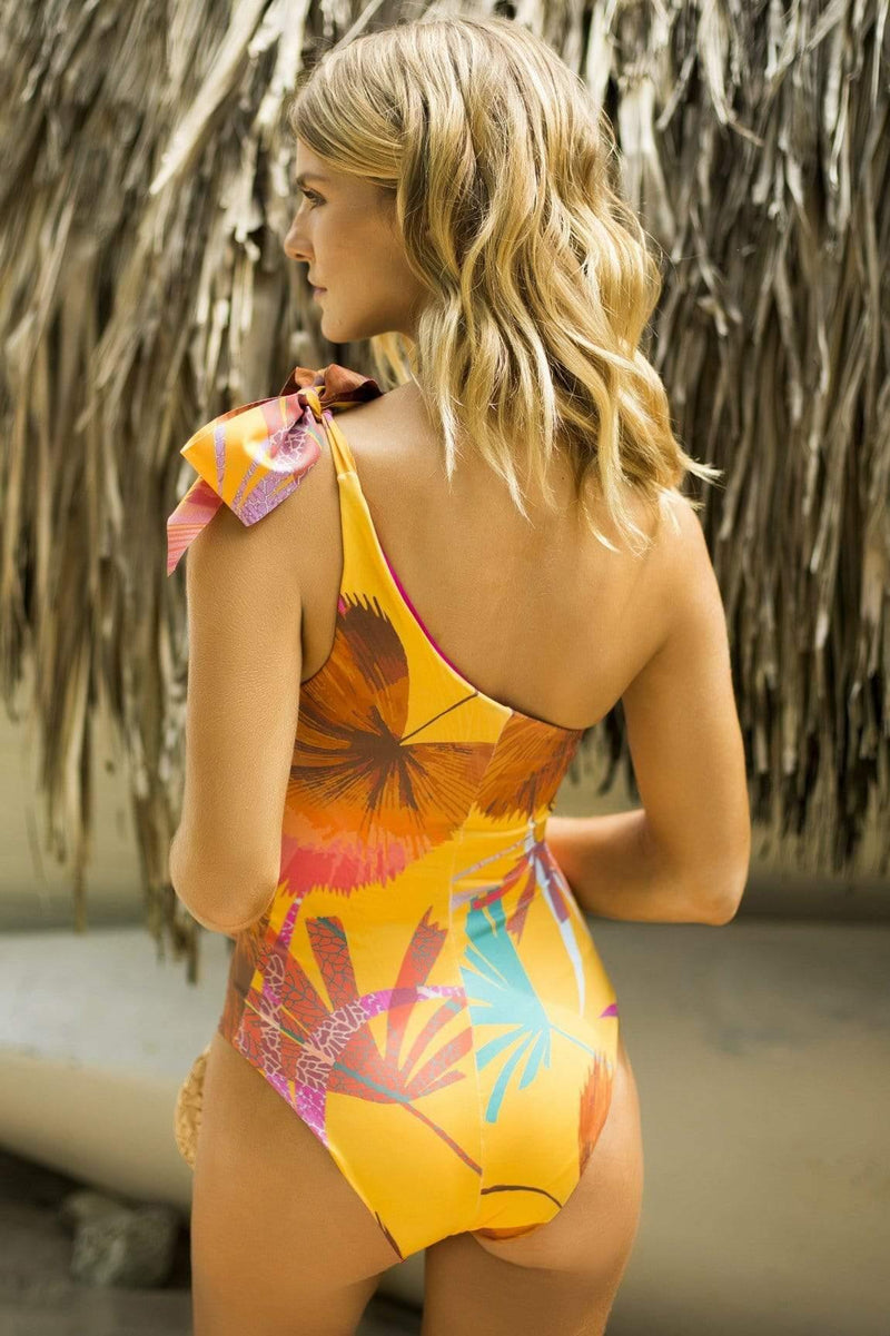 Maxi Palms One Piece - Veranera Swimwear