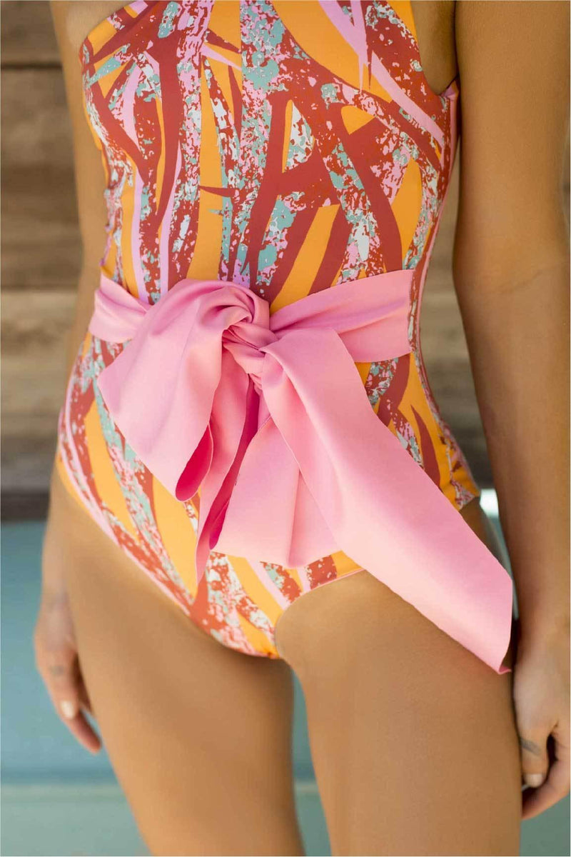 Miss Bow One Piece - Veranera Swimwear