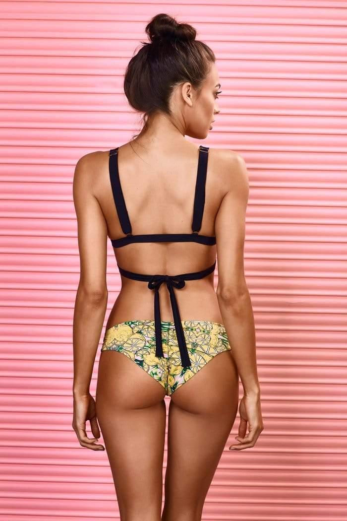 Got Lemonade? Bikini Top - Veranera Swimwear