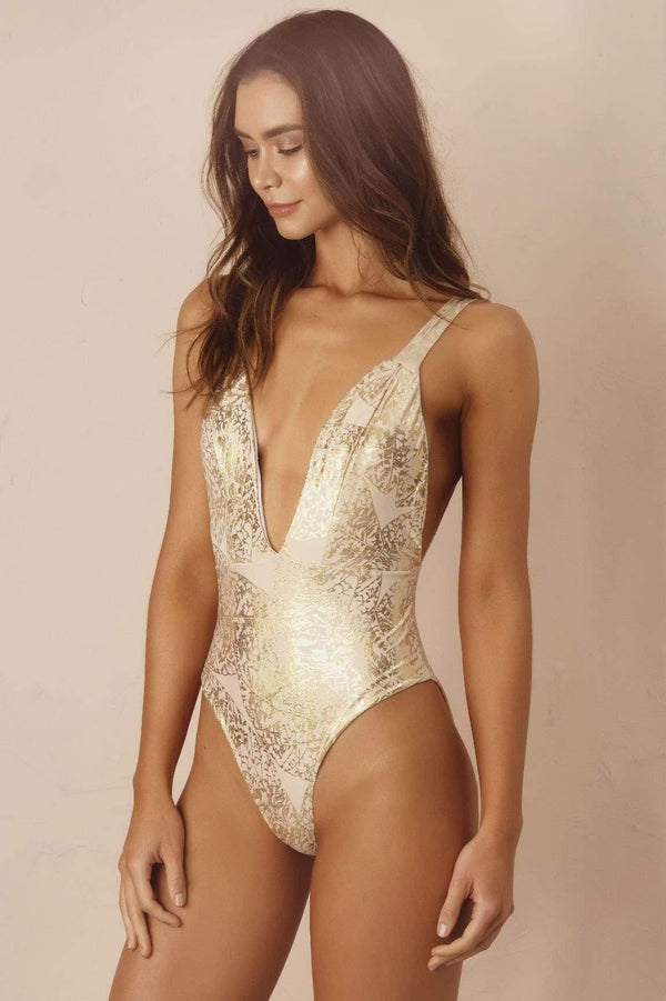 Golden Senzabela One Piece - Veranera Swimwear