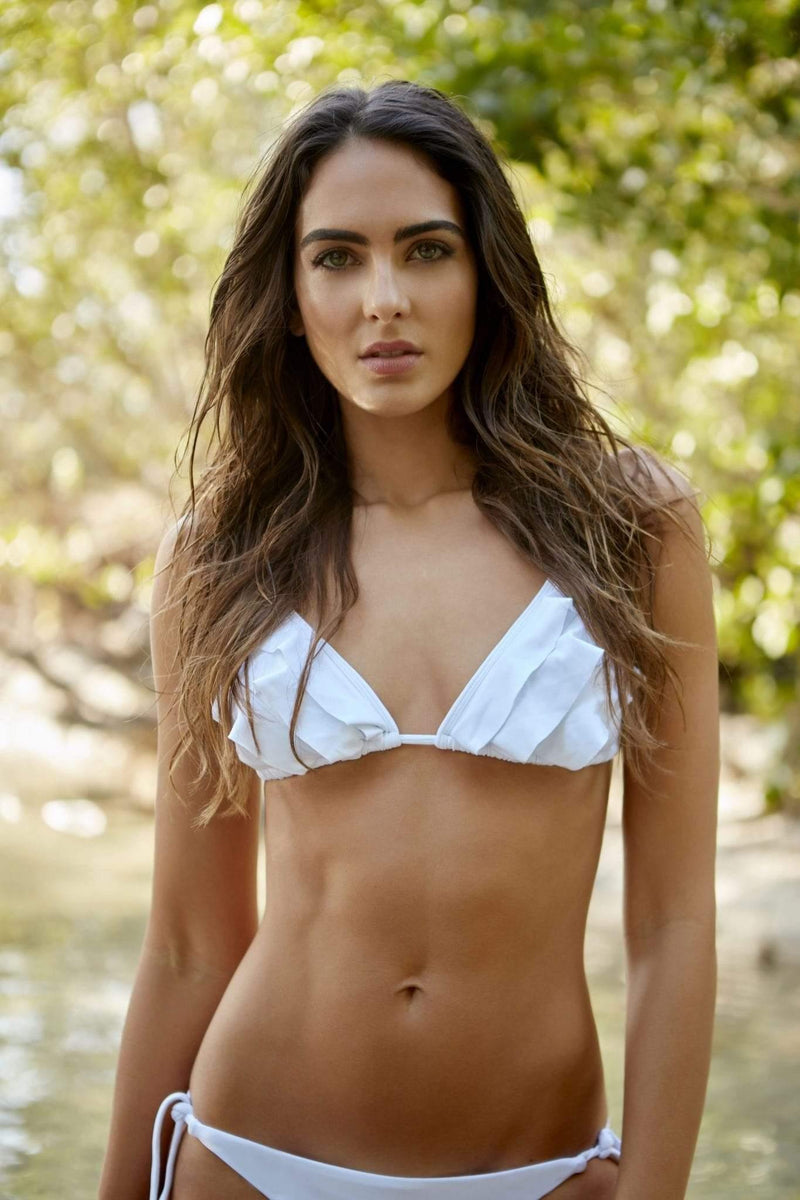 Indira Triangle Bikini Top - Veranera Swimwear