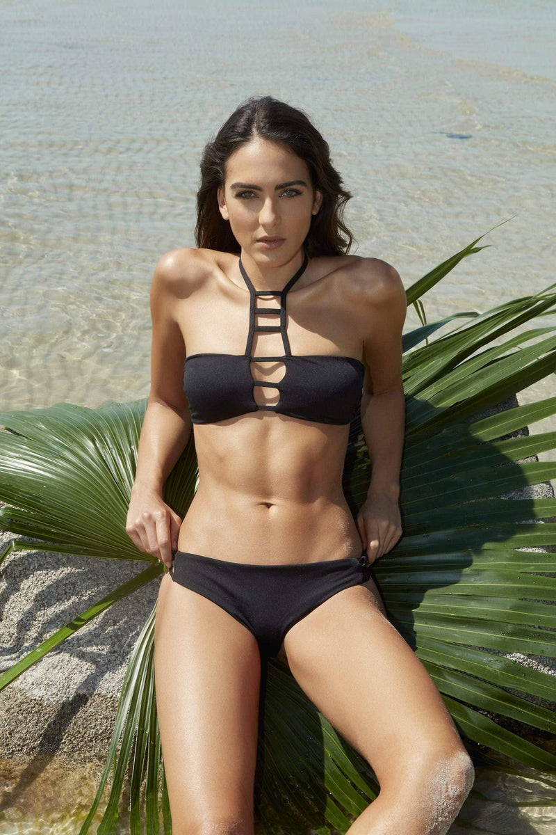 Krisha Cut Out Bikini Bottom - Veranera Swimwear