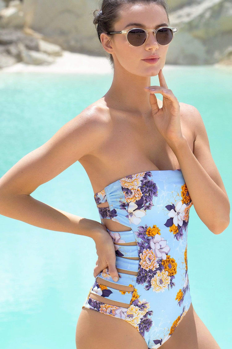 Le Bleu One Piece - Veranera Swimwear