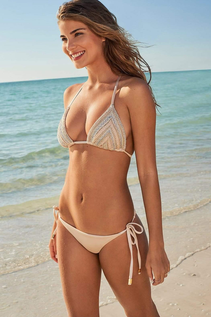 Nido Triangle Bikini Bottom - Veranera Swimwear