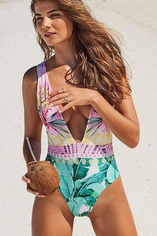Pina Colada One Piece - Veranera Swimwear
