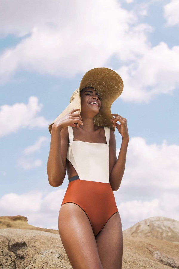 Resa Ivory One Piece - Veranera Swimwear