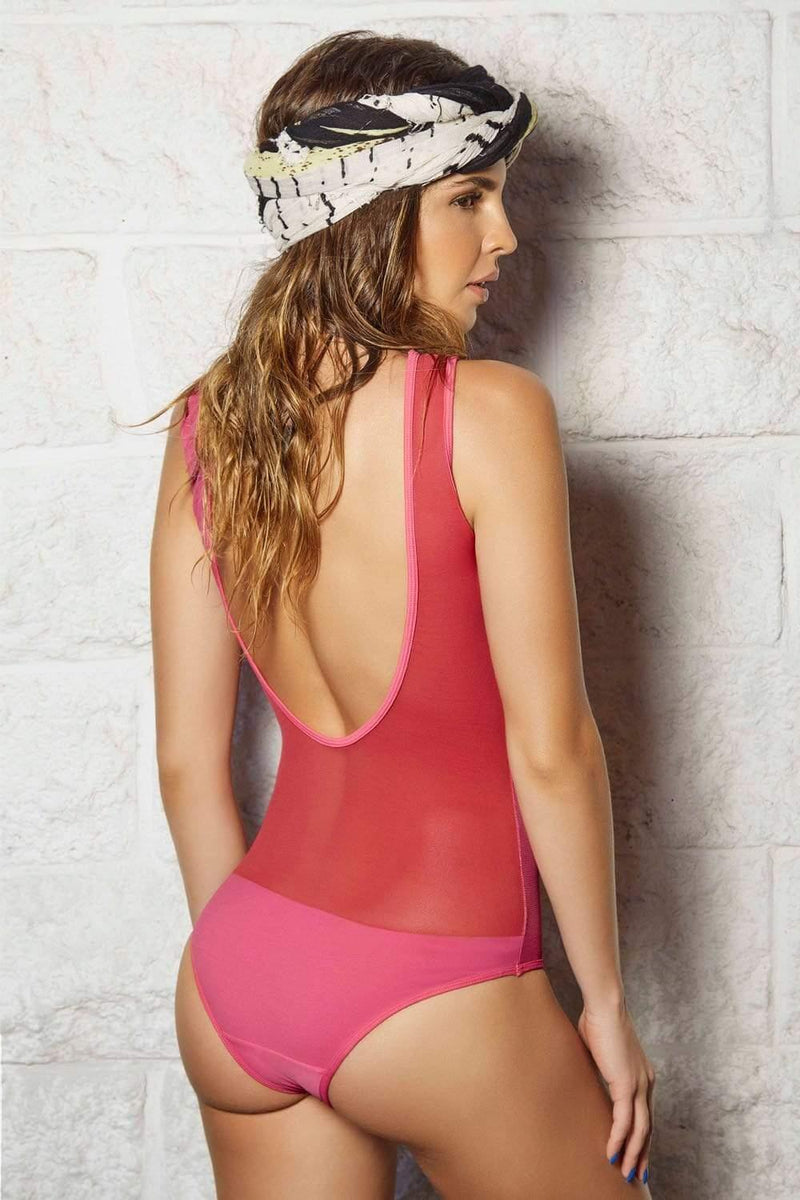 Red Lobster One Piece - Veranera Swimwear
