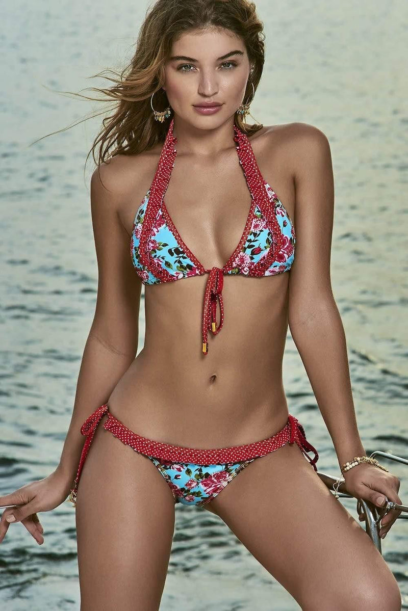 Rosa Nautica Triangle Bikini Bottom - Veranera Swimwear