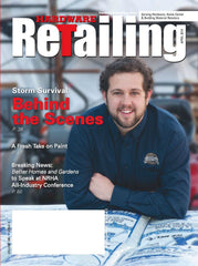 Hardware Retailing featured AjustLock in its April issue