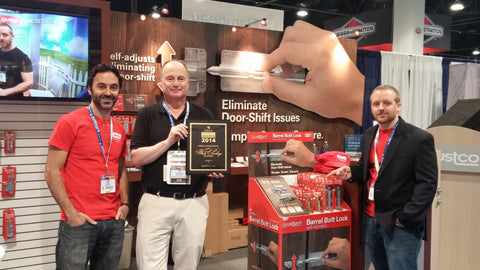 The North American Retail Hardware Association honors Ajustco at the 2014 National Hardware Show