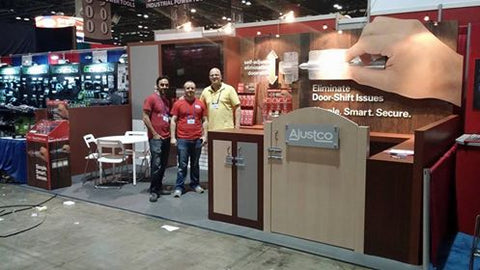 Ajustco at Orgill Spring Show with its Innovative Barrel Bolt Products
