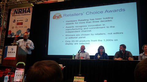 Ajusco won the Retailers' Choice Award at the 2014 National Hardware Show