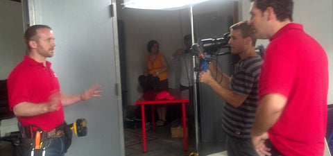 AjustLock Commercial Production Shoot at Anar Studios