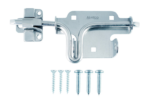 AjustLock Zinc Silver Slide Bolt Lock