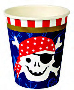 Ahoy Pirate! Party Cups