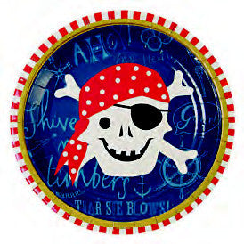 Ahoy Pirate! Plates