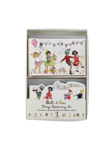 Belle & Boo Party Stationery