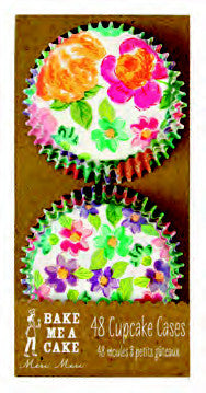 Cupcake Cases Bright Floral