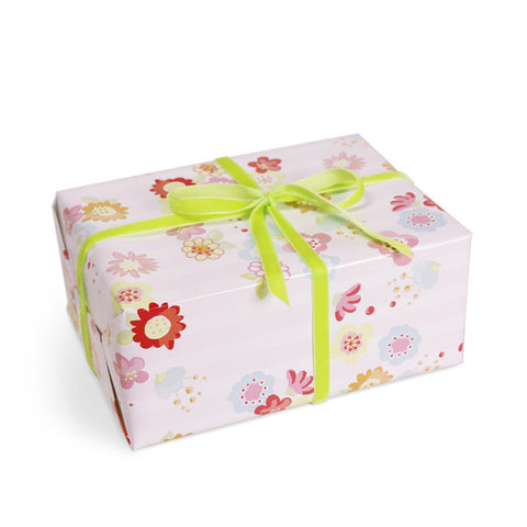 Blossom gift wrapping paper