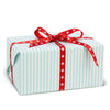 Stripes Turquoise gift wrapping paper