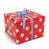 Stars Red gift wrapping paper