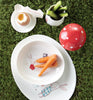 Dish set for little ones - Bunny Honey