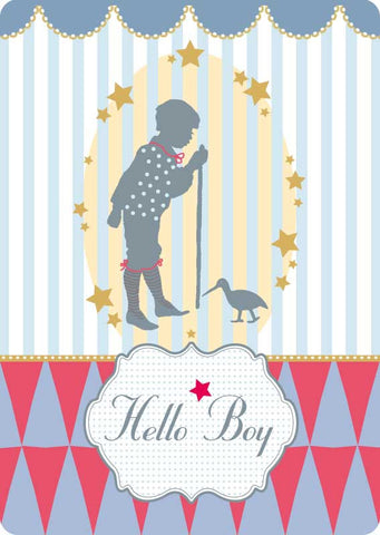"Postcard ""Hello Boy"""