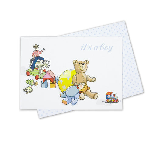"Greeting card ""It's a boy"""