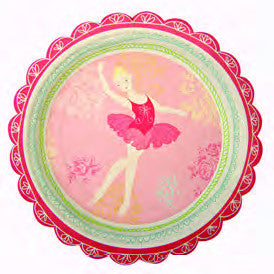 Little Dancers Plates