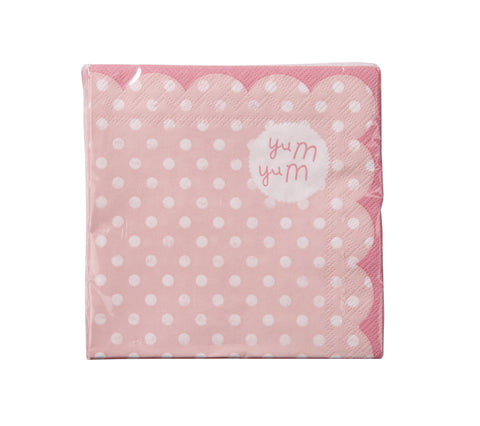 Pink Party Cocktail Napkins