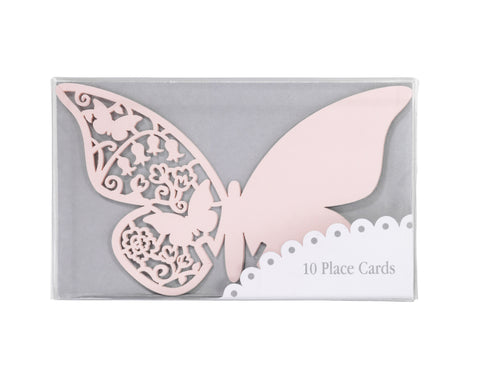 Place Cards Butterfly pink