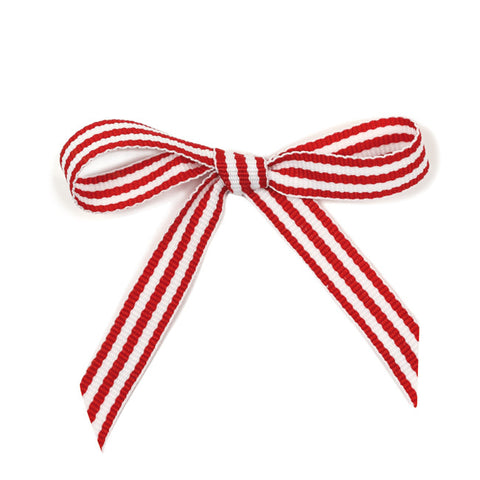 Ribbon Stripes Red