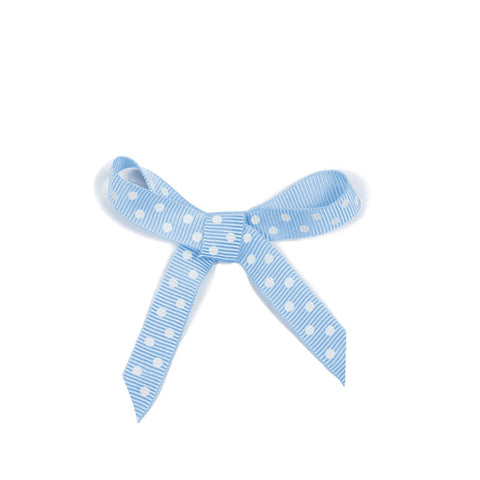 Ribbon Dots Blue
