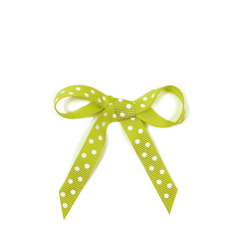Ribbon Dots Green