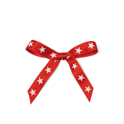 Ribbon Stars Red