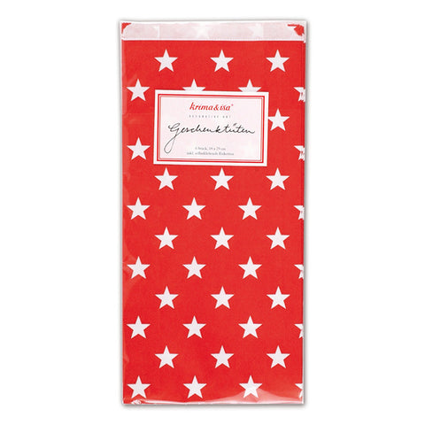 Gift-bags Stars Red