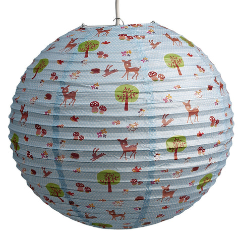 "Paper Lampshade ""Woodland Animals"""