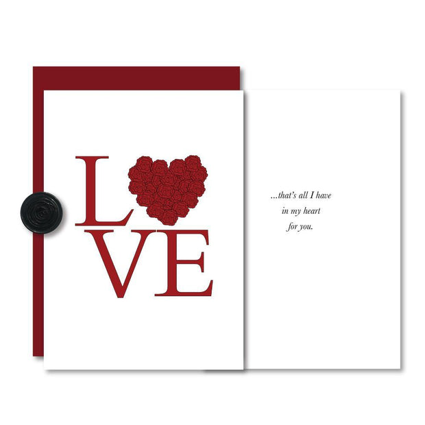 Love in My Heart Valentine Card