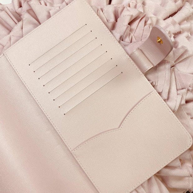 Ella Rose - Classic Grand Blush Saffiano Notebook Planner Cover