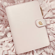 Ella Rose - A5 Blush Saffiano Notebook Planner Cover